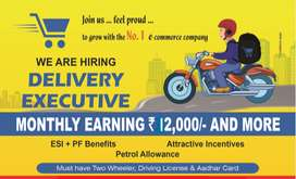 Delivery executive - Female Only