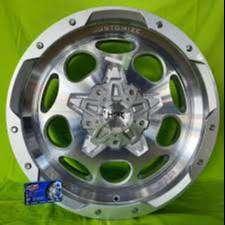 Velg HSR Ring 20 Pas untuk mobil Fortuner/pajero