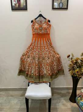Bollywood partywear pakistani long dress