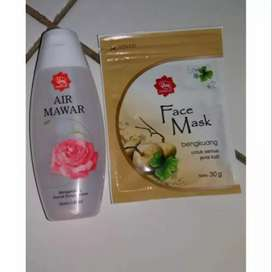 Face Masker Bengkuang Viva Cosmetik