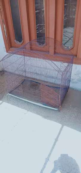 Cage for birds and animals
