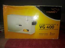 V Guard Electronic voltage stabilizer. Model VG 400