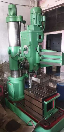 HMT RADIAL DRILL MACHINE RM61 (Mechanical)