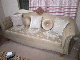 Sofa 7 setter with 4 single extra setter for sale