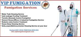 VIP Water Tank Cleaning & Fumigation Services