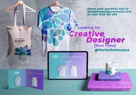 Looking for Graphic Designer in Angadippuram