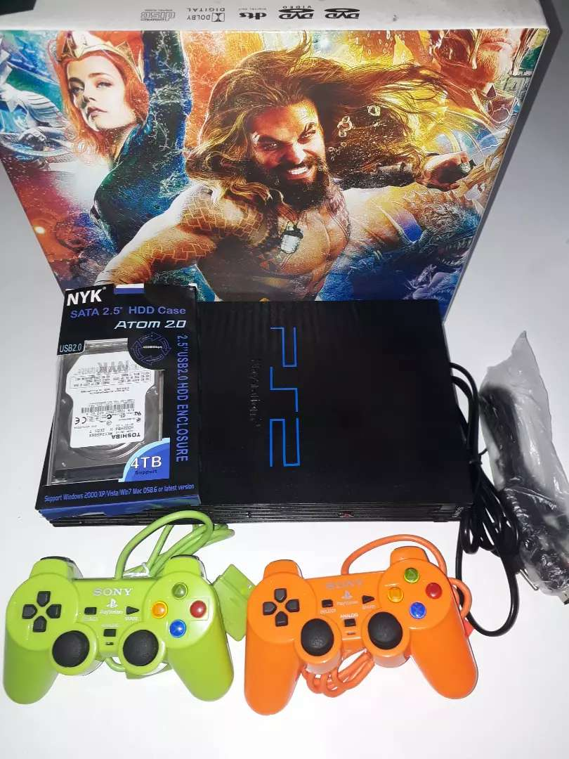 PS2 FAT HARDISK 160GB FULL GAME NEW