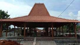 Jual Rumah Adat Jawa (Joglo Pendopo) dan Limasan bahan full kayu jati