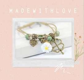 Gelang Fashion Korea MADE WITH LOVE