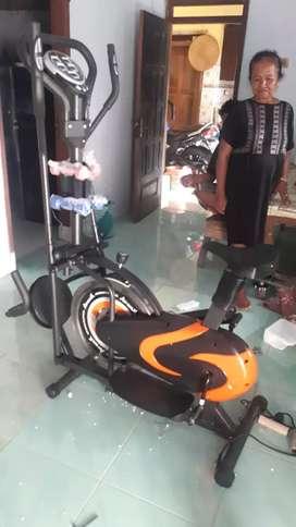Sepeda statis ORBI TRAC MULTIFUNGSI bisa COD LANGSUNG id 66615