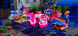Kereta panggung mini odong odong robocar animal CERAH 11