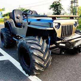 Hunter modified willys open jeeps