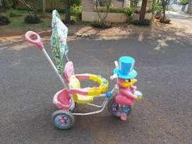 Sepeda Balita Warna Pink