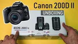 Kredit DP Mulai 0% Canon EOS 200D Mark II + Kit