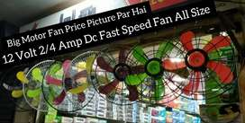 12 Volt Dc Fast Speed Fan