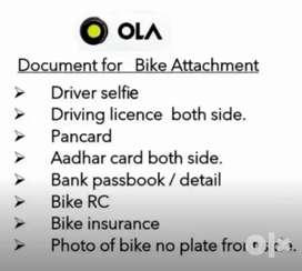 OLA Bike Rider Earn upto 17000