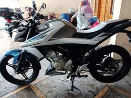Yamaha Vixion VVA Led 2018 B-DKI Mulus Full Ori Tangan-1 Siap Pakai