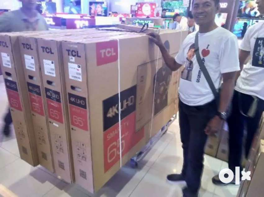 55 & 65 TCL  SMART 4K TV WHOLESALE PRICE TCL 3 YEAR GUARANTEE