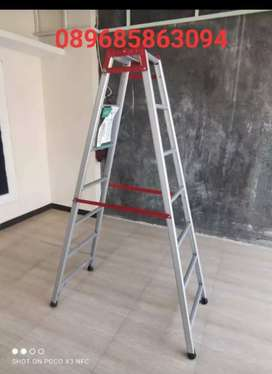Tangga lipat 2 meter alumunium tebal