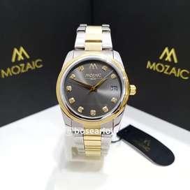 Jam Tangan Mozaic MZ 10016 Grey