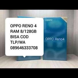 OPPO RENO 4 RAM 8/128GB BARU
