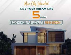 5 Marla Plots Monthly installment available in Nova city Islamabad