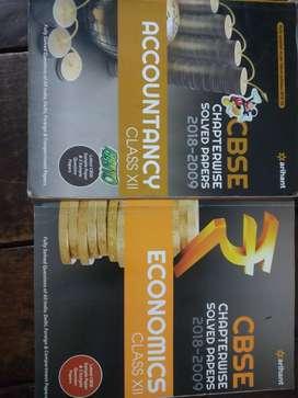 Arihant accounts and economics books