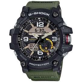Casio G-Shock Analog-Digital Black Dial Men's Watch - GG-1000-1A3DR (G