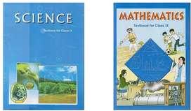 Class 9 NCERT Maths + Science Book