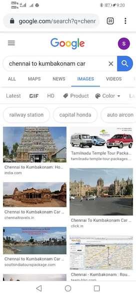Chennai to kumbakonam