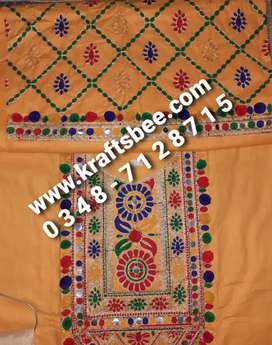 Hand Embroidered Lawn Suits Sale Offer