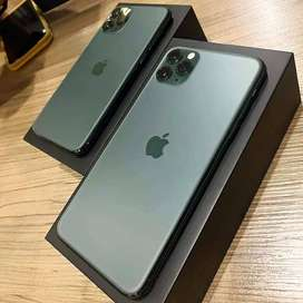 Available iPhone 11 Pro 128 GB Available in all colors with Bill Box