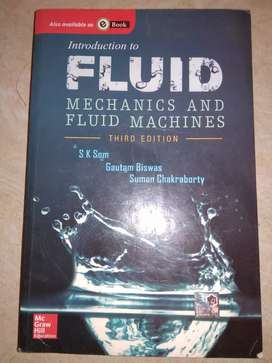 Fluid mechanics by som and biswas