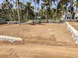 Beautiful Villa house plot in Chempazhanthy s.n college