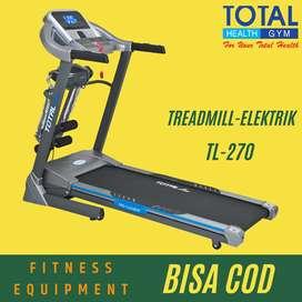 Treadmill elektrik Murah tl-270 incline alat fitness rumahan