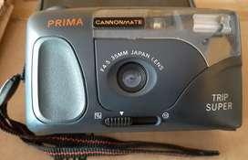 Kamera jadul merk prima cannon mate
