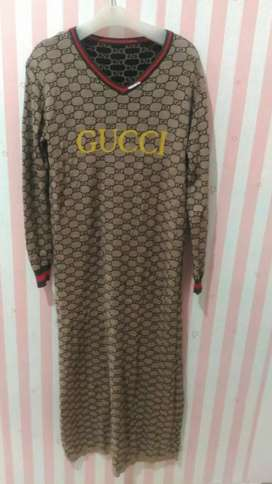 Dress Gucci cuci gudang