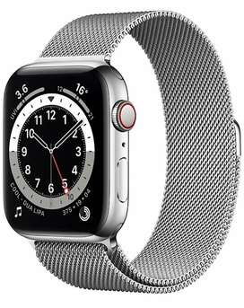 Apple watch series 6 44 mm + cellular Brand New with one year warranty