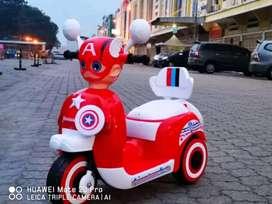 Motor Aki Anak Captain America