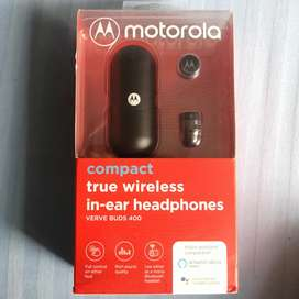 Motorola Verve Buds 400 - True Wireless - Black - Bill 24/06/2020