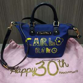Preloved tas Carlo Rino original
