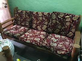 Two sofa set sell at one time
