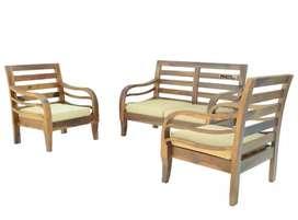 Teak wood sofa at reasonable price