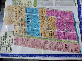 Two Acres Industrial plot for sale in phase 2 Noriabad
