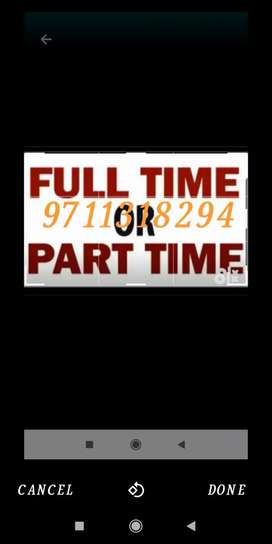 Di part time job and get money