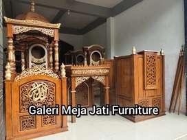 Mimbar masjid sandet ukir E787 talk