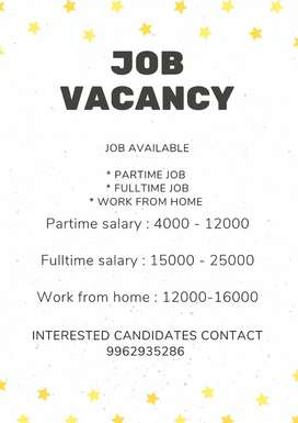 Urgent and limited vacancy for our company
