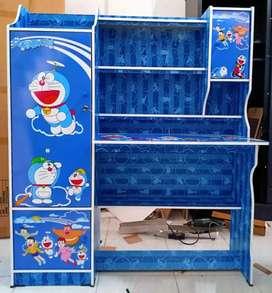 Meja Belajar 021 Doraemon (Lebih Banyak Ruang)