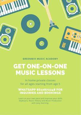 Home Private Music Classes