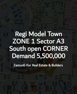 Regi Model Town Zone 1 Sector A3 South open CORNER